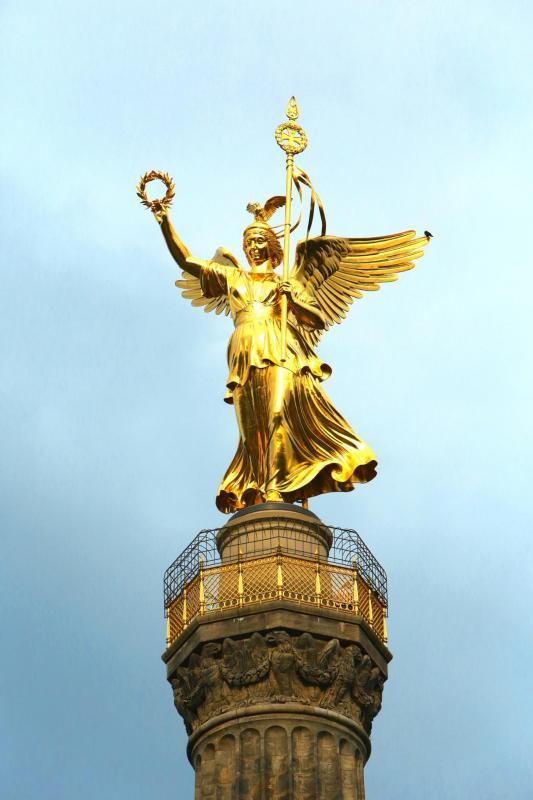 Ange statue Landmark Berlin