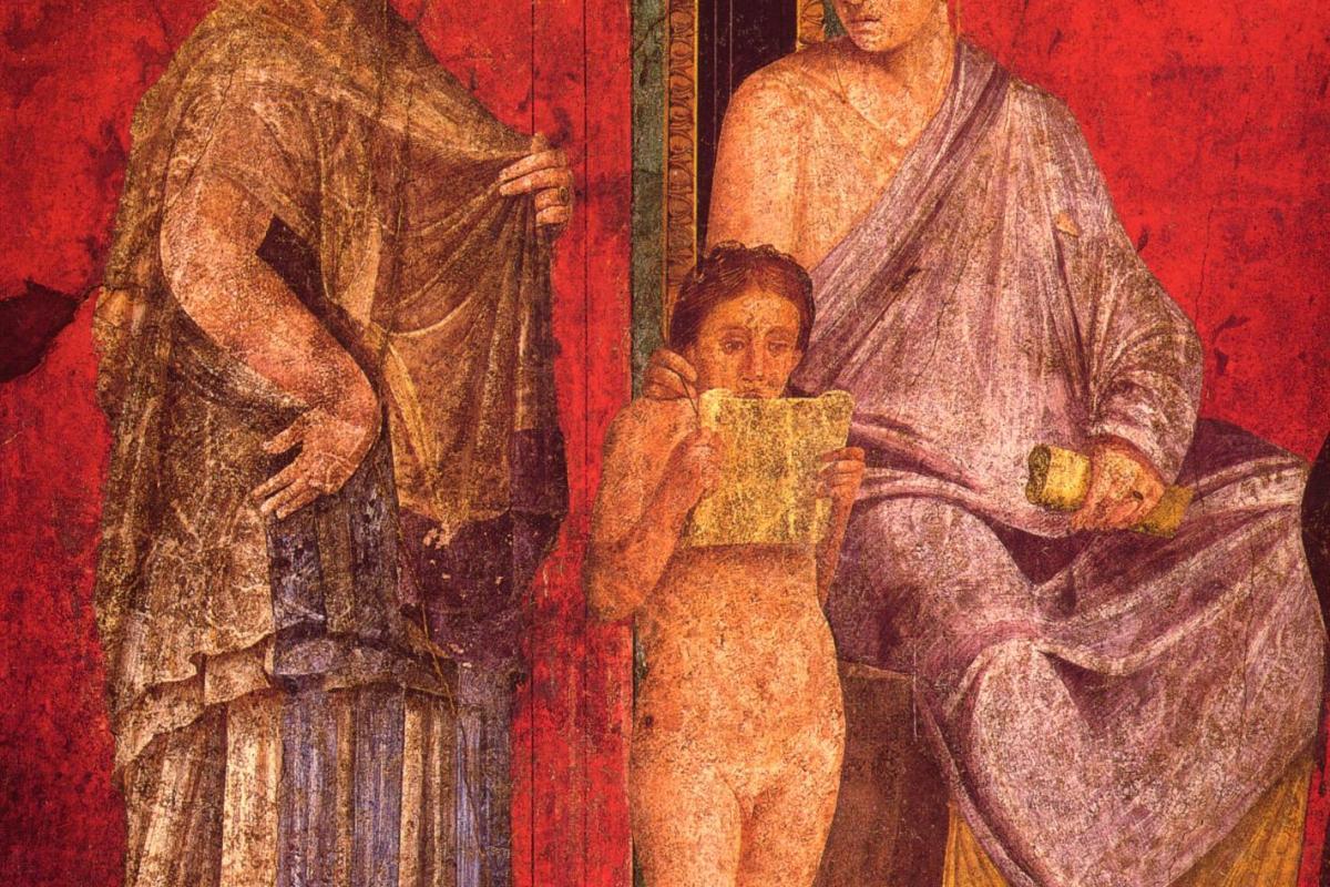Antiquité femmes et enfant