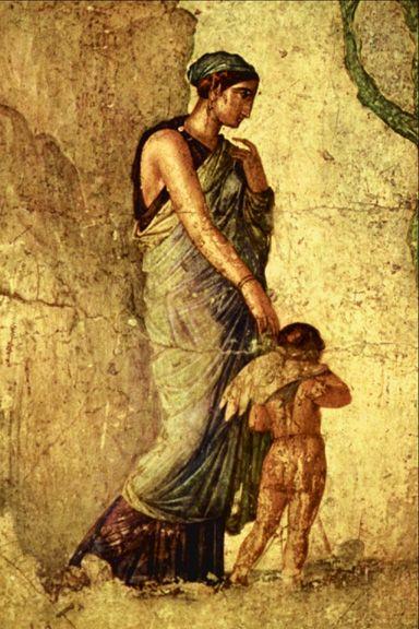 Aphrodite et Eros