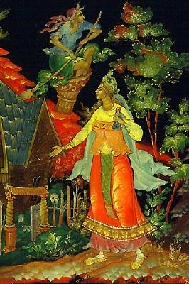 Vassilissa et la sorcière