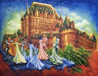 Bal devant château-Annie Pelletier