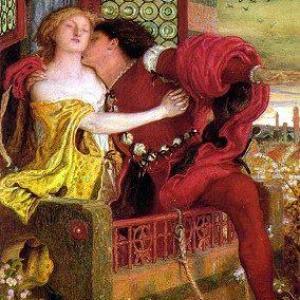 Couple-baiser sur trône-Peinture