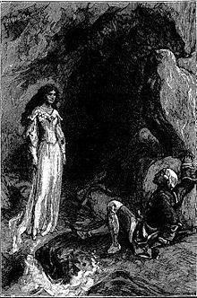 Couple dans grotte