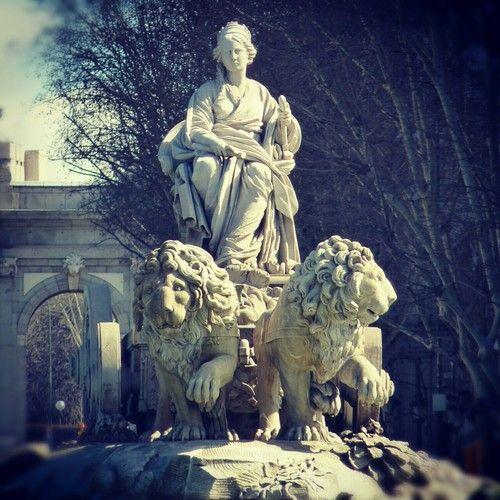 Cybèle et lions