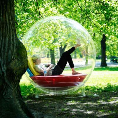 Dans ma bulle au sein de la nature