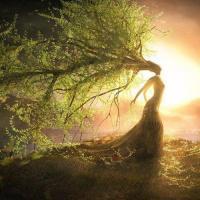 Déesse de l'arbre-dryade