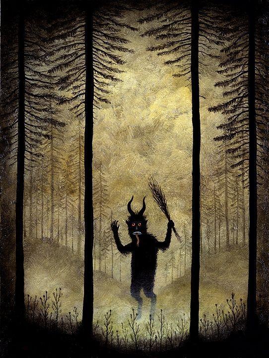 Démon dans forêt-Andy Kehoe