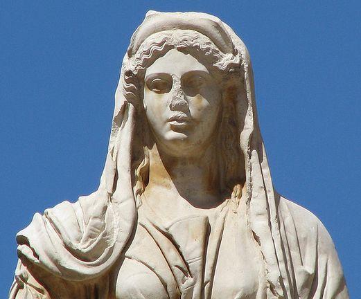 Demeter sculpture buste