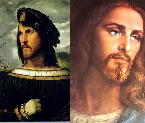 Doubles-César Borgia et Christ