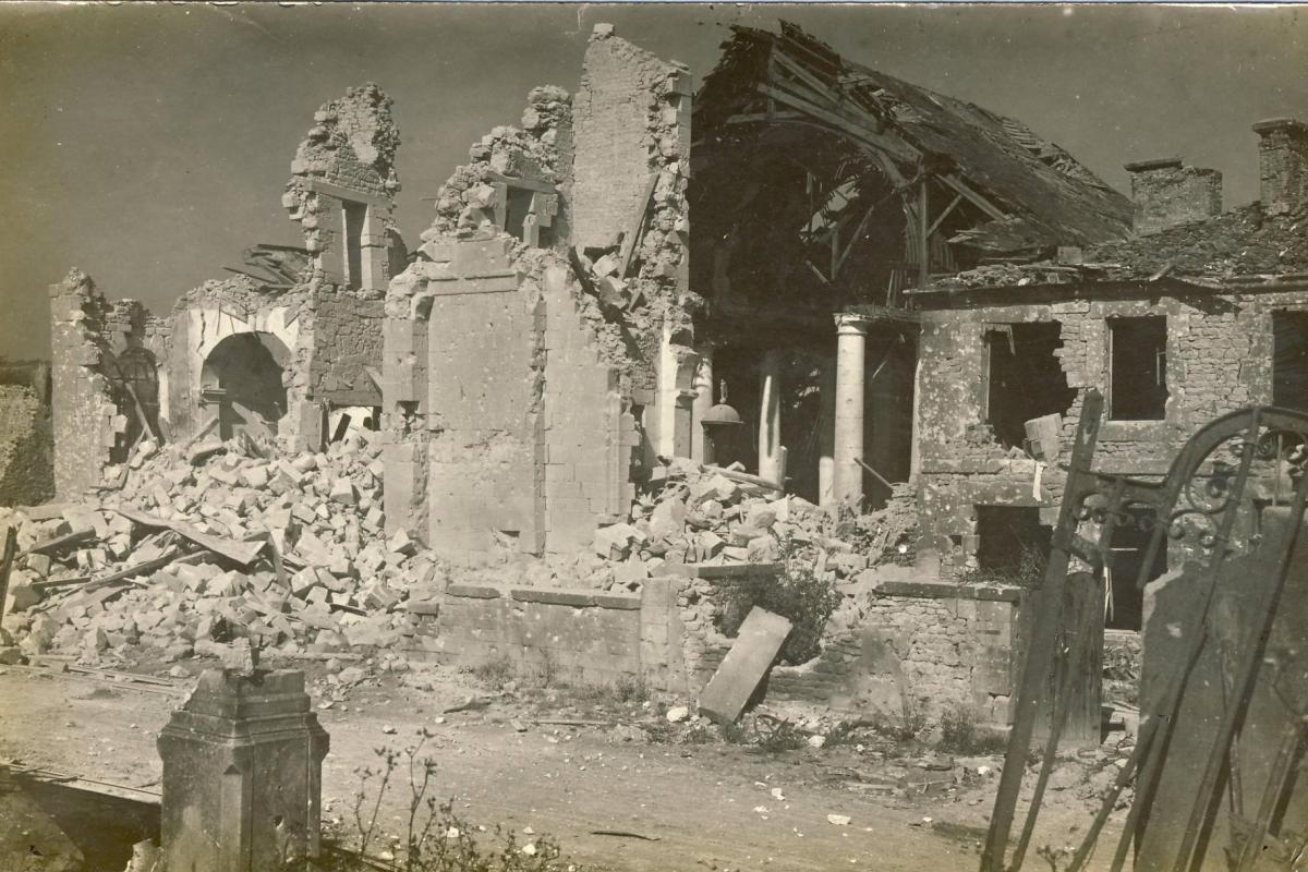 Eglise en ruines