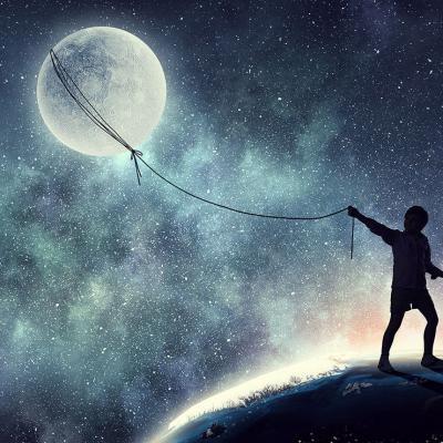 En quête de la lune