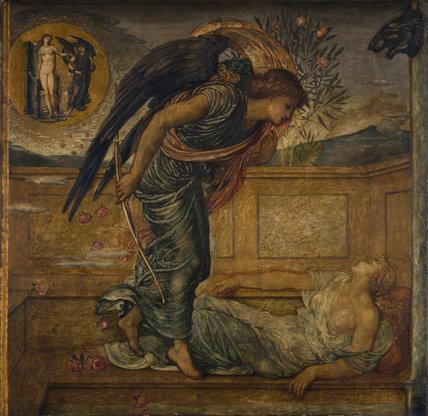 Eros et Psyché à terre