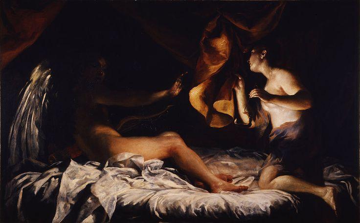 Eros et Psyché dans la nuit