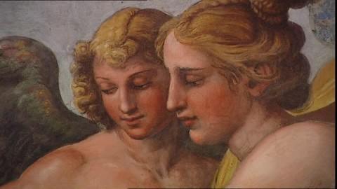 Eros et Psyché-Raphaël