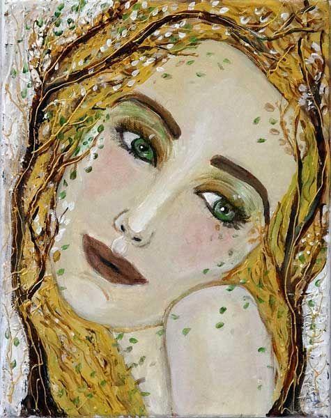 Femme au visage triste-Zilberman