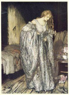 Femme dans chambre