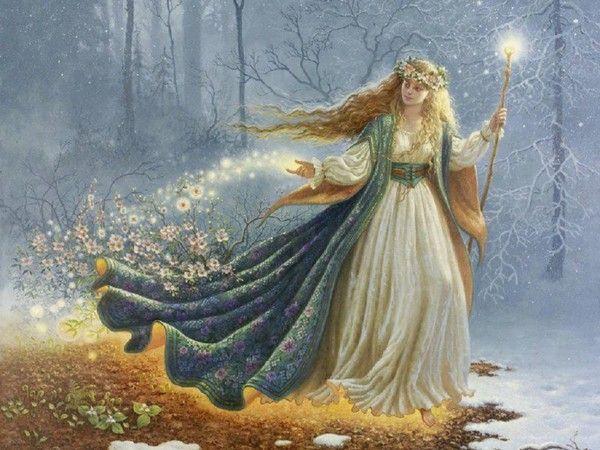 Femme-fée du printemps