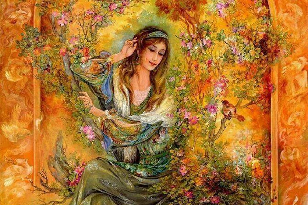 Femme persanne très belle
