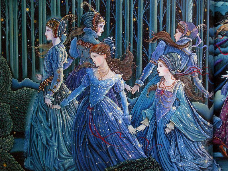 Femmes dansant en ronde