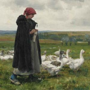 Gardienne d'oies-Dupré