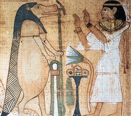Hippopotame Egypte antique