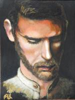 Homme pensif-Aldo-Peinture