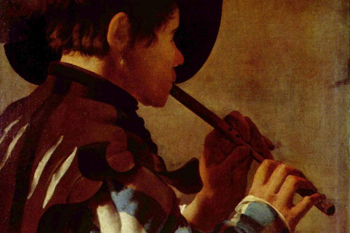 Joueur de flûte-Hendrick Terbrugghen