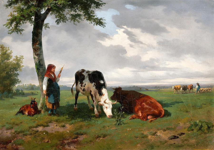Kari gardant vaches