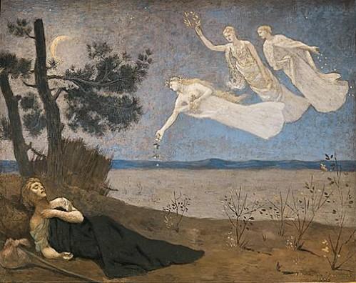 Le rêve-Pierre Puvis de Chavannes