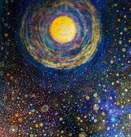 Mandala dans cosmos
