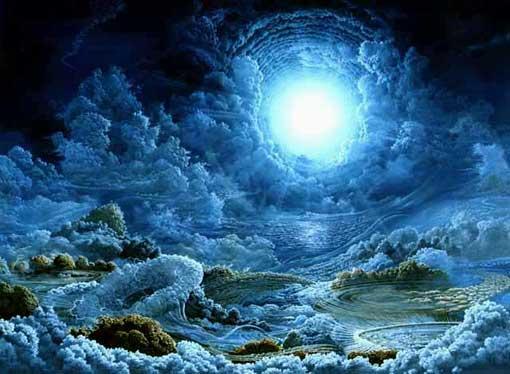 Monde de glace imaginaire-François Schlesser