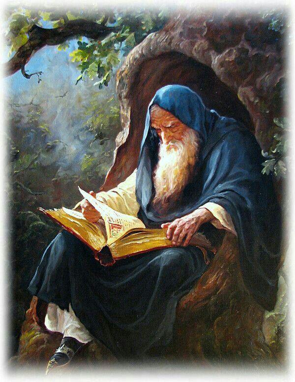 Mythologie-Vieux sage
