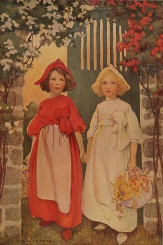 Neigeblanche et Roserouge - Conte Grimm