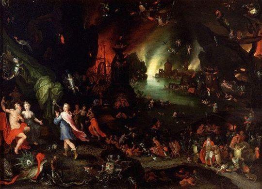 Orphée en enfer-Brueghel le Jjeune