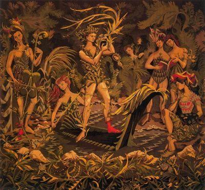 Orphée et Muses