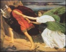 Orphée-Eurydice sortant de l'enfer