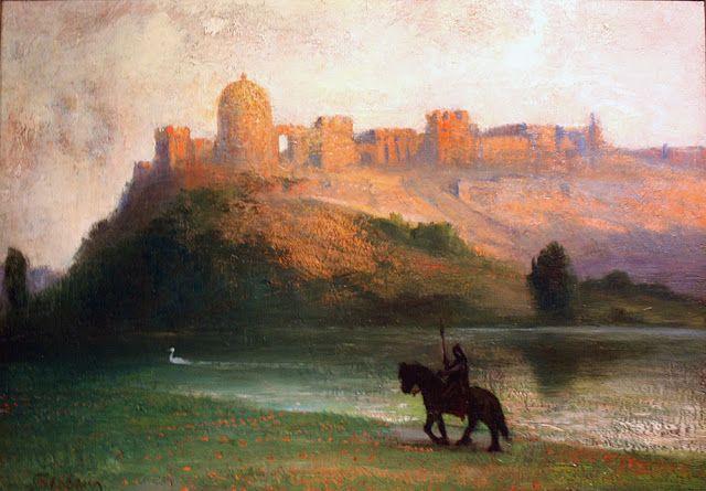 Perceval et château-Hermann Hendrich