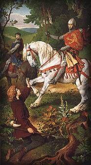Perceval et roi Arthur
