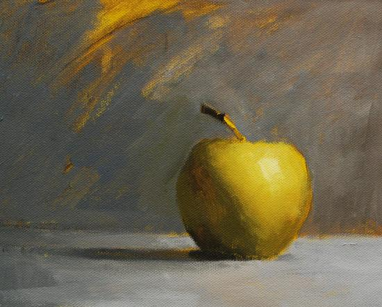Pomme d'or-nature morte