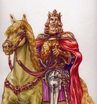 Roi à cheval
