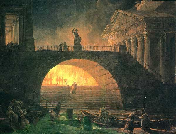 Rome antique-Incendie