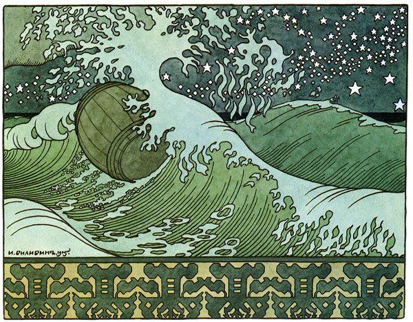 Tonneau à la mer