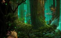 Tours sur troncs d'arbres