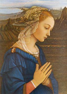 Vierge Marie-Peinture