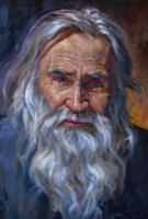 Vieux sage a barbe